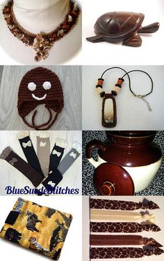 Brown Out by Jo Stamatakis on Etsy--Pinned with TreasuryPin.com