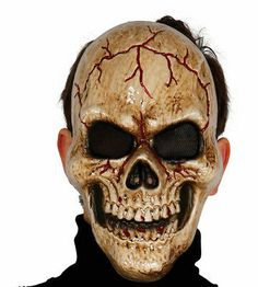 Human Skull Face Plastic Mask Realistic Halloween Skeleton Fancy Dress | eBay Maske Halloween, Halloween Kostüm, Halloween Face Makeup, Skeleton Fancy Dress, Halloween Fancy Dress, Realistic Halloween Masks, Plastic Mask, Harry Potter, Skull Mask