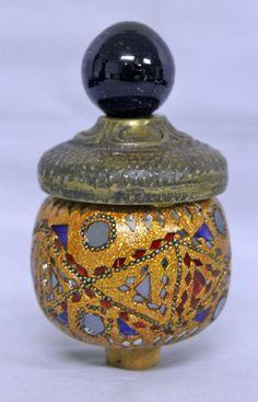 Vintage Kutani Satsuma 8 Quot Hand Painted Ginger Jar With Lid