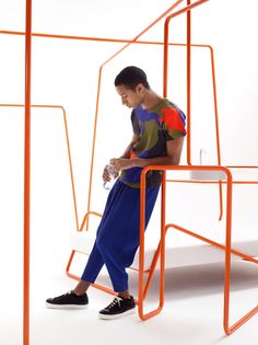 Issey Miyake installation by Stone Design