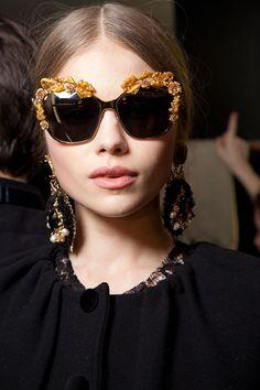 Dolce & Gabbana at Milan Fall 2012 (Backstage)
