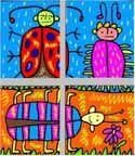 Middle school grades art lesson plans. Grade 6-8 (ages 11-14 years). Middle school. KinderArt.com