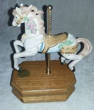 Westland Musical Carousel Horse Limited Edition #1252 of 9000 Memory series 8703