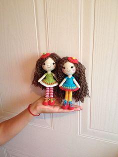 Crocheted dolls ♡