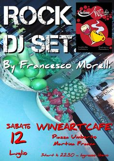 Francesco Morelli ROCK DJ SET al WineArt