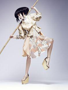 Harper's Bazaar romania- Ugo Richard by Julie Camus, via Behance | Fashion - Editorial - Photography - Portrait - Pose Idea - Inspiration