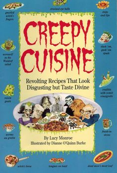 Spooktacular Cookbooks and Ultra-Weird Recipes for Halloween: Let the Halloween Fun Start Here