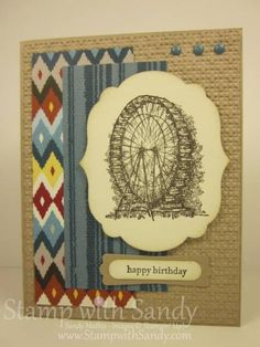 Feeling Sentimental and Parker's Patterns by stampwithsandy - Cards and Paper Crafts at Splitcoaststampers