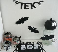 By stephanie omstebeurt wordbanner pinterest - Deco halloween tafel maak me ...