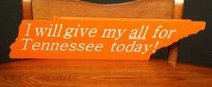 Hey, I found this really awesome Etsy listing at https://www.etsy.com/listing/178938417/tennessee-vols-slap-sign