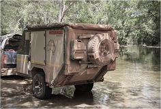 Conqueror Australia have applied 15 years experience in building some of the worlds toughest military equipment into their awesome range of adventure trailers. Their Conqueror UEV-440 is the ultimate off-road camper trailer, capable of crashing throu