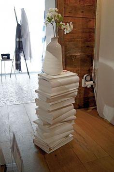 L'astuce déco de Sophie : Ma table de nuit créative en livre! DIY