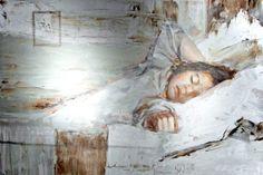 """Armelias uni"""" on Ilkka Lammin öljyvärimaalaus vuodelta 2000"""