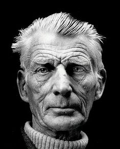 """You're on Earth. There's no cure for that.""  ― Samuel Beckett, Photographe Jane bown , London 1976"