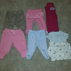 7pc bundle Gently worn 0-3 & 3m Carter's  Other