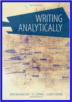 Business analysis 3rd edition by debra paul pdf ebook http writing analytically 7th edition by david rosenwasser pdf ebook httpdticorp fandeluxe Gallery