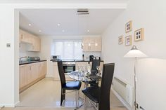 Kitchen and Dining Area, Christchurch Close Serviced Apartments, St Albans