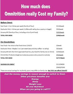 Omni is worth it and much much more! Www.omnitrition.com/daylynch Omnitrition is a 24 year old company bringing health and wellness to so many!
