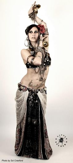 Rachel Brice, Belly Dancer