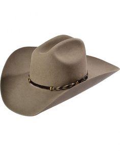 65bb7138f21 Stetson Stone Portage 4X Buffalo Felt Cowboy Hat