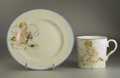 Vintage Paragon China's Playtime series featuring Eileen Soper illustrations
