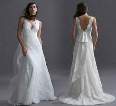 bridal dress patterns | Ethnic patterns Wedding Dress by Watters | Wedding Inspiration Trends