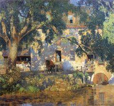 Impressioni Artistiche : ~ Daniel Garber ~ American artist, 1880–1958