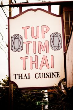Tup Tim Thai, Lower Queen Anne - apparently a legend among Seattle Thai restaurants: http://www.yelp.com/biz/tup-tim-thai-seattle