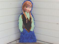 Anna frozen pinata frozen pinata elsa frozen by Mylittlesofy