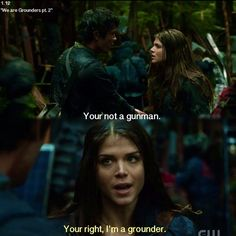 """S1 Ep13 """"We Are Grounders, Part 2"""" - Octavia and Bellamy"""
