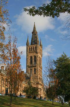 University of Glasgow, founded 1451, Glasgow, Scotland Copyright: Denis Cordier
