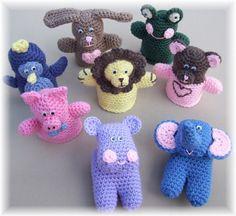 animal puppets crochet pattern