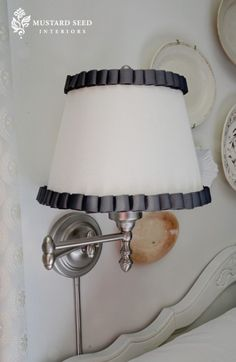 trim on lampshade
