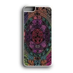 Aztec Calendar Black Custom for iPhone Case and Samsung Case