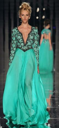 ABED MAHFOUZ COUTURE FALL/ WINTER 2011-12 COLLECTION by frankie