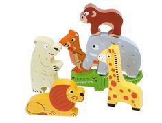 Janod Puzzle Zoo Bunt, Puzzles, Creative, Kids, Puzzle
