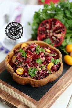 Yeşil Mercimek Salatası (Pancarlı) – Mutfak Sırları – Pratik Yemek Tarifleri