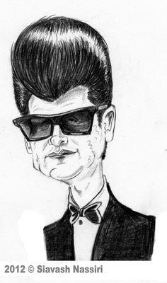Awesome Fan Art! Roy Orbison