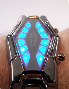 Futuristic Watch, The Cool Watch From The Future Even A Non-Cyborg Could Love.