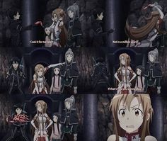 I loved this scene in SAO :3