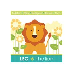 Zodiac Baby Leo by Lisa seng for Minted