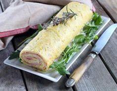 Recette - Roulé salé pommes de terre jambon et fromage en vidéo