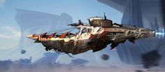 Sci-Fi Spacecraft Art | SPACECRAFTS, SPACESHIPS AND STEAMPUNK CRUISERS - PART 1