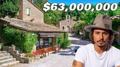 (2486) YouTube Village Houses, Farm Gardens, South Of France, Modern House Design, Johnny Depp, Luxury Homes, Home And Garden, Architecture, Places