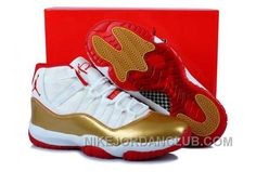 http://www.nikejordanclub.com/nike-air-jordan-11-mens-official-white-gold-red-shoes-kabkr.html NIKE AIR JORDAN 11 MENS OFFICIAL WHITE GOLD RED SHOES HZ2GQ Only $84.00 , Free Shipping!