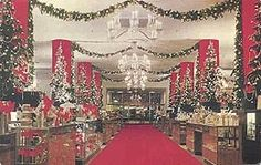 vintage christmas department store displays | Seattle's Frederick & Nelson department store at ... | Vintage Memori ...
