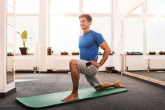 Get Your Glutes in Gear - Glute Activation Exercises for Athletes hip flexor psoas stretch. Best Stretching Exercises, Hip Flexor Exercises, Hip Stretches, Tight Hamstrings, Tight Hips, Glutes, Hip Flexor Pain, Tight Hip Flexors, Psoas Stretch