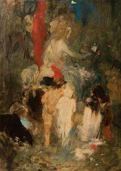 .:. Γύζης Νικόλαος – Gyzis Nikolaos [1842-1901] Άνοιξη