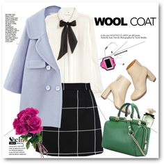 Cold Weather Essentials: Wool Coat by svijetlana on Polyvore featuring moda, H&M, Free People, Dolce&Gabbana, STELLA McCARTNEY, polyvoreeditorial and woolcoat