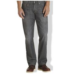 Levi's 514 men's jeans slim straight leg cotton polyester size 32x30, 32x32  NEW #Levis #SlimStraight